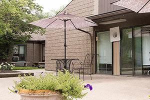 parkside porch exterior