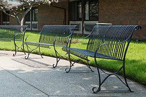 autumnwood outside benches