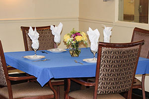 lebanon cafeteria table